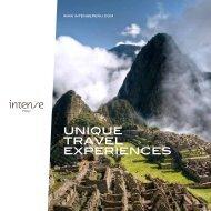 UNIQUE TRAVEL EXPERIENCES - Intense Peru Tours & Peru ...