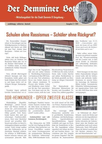 Der Demminer Bote - MUPINFO.de