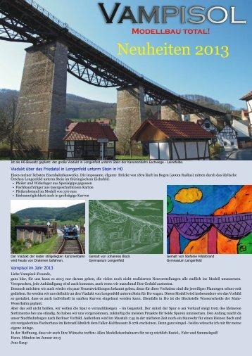DOWNLOAD Vampisol-Neuheitenblatt 2013 als PDF