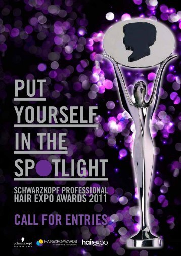 CaLL FOR ENTRIES - Schwarzkopf Professional Hair Expo Awards
