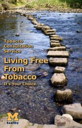 Living Free From Tobacco