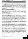 BEDIENUNGSANLEITUNG 2012 - Seite 7