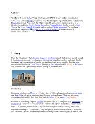 Gondar - the official website of Quara Hotel