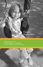 A Guide to Pediatric Neurosurgery - Weill Cornell Brain and Spine ...