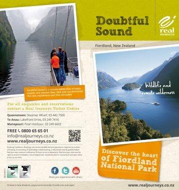 Doubtful Sound - Real Journeys