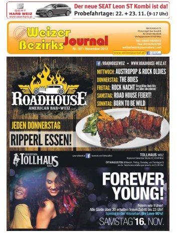 Nr. 167 • November 2013 - Neues Weizer Bezirksjournal