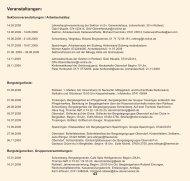 Veranstaltungen: - DAV Sektion Oberer Neckar