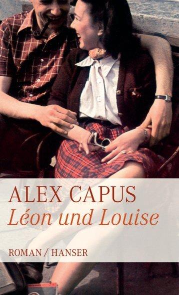 PDF-Leseprobe herunterladen - Alex Capus