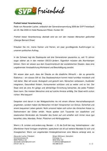 Rede als pdf - SVP Freienbach