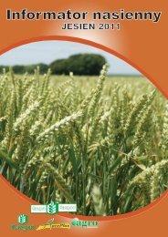 Informator nasienny - Agro Bakałarzewo