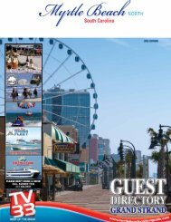 North - Myrtle Beach Visitors Guide