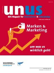 Marken & Marketing - BDS-News
