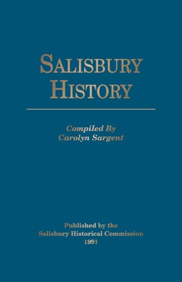 To read the book, click here - Salisbury Chamber of Commerce