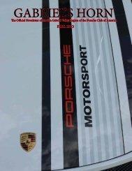 GABRIEL'S HORN - San Gabriel Valley - Porsche Club of America