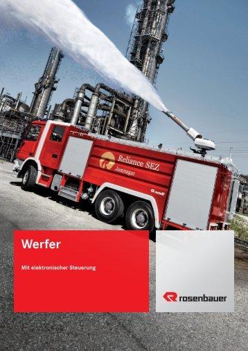 Werfer - Rosenbauer International AG