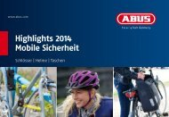 Highlights 2014 Mobile Sicherheit - ABUS