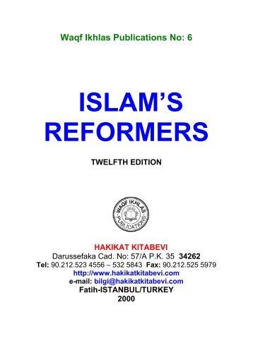 Islam's Reformers .pdf