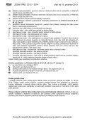 JÍZDNÍ ŘÁD 2014 - Page 5