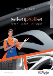 Reifen Profiler Winter