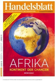 Handelsblatt Afrikas_Aufschwung