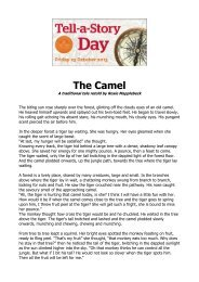 The Camel - The Scottish Storytelling Centre
