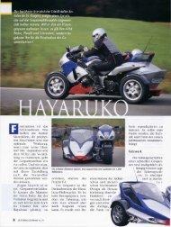 Motorrad-Gespanne, Nr. 74, 03/04 2003 - Schöne Linie