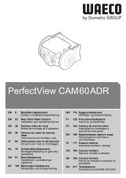PerfectView CAM60ADR - Waeco