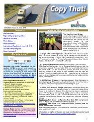 Copy That! (PDF) - Government of New Brunswick