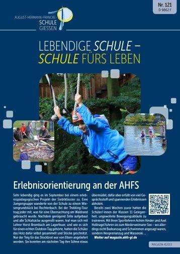 Magazin 121 als PDF-Datei - August-Hermann-Francke-Schule
