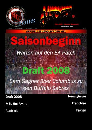 Draft 2008 Draft 2008 - MEL-League