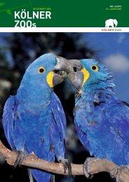 Nr. 2/2013, 56 Jahrgang (PDF) - Kölner Zoo