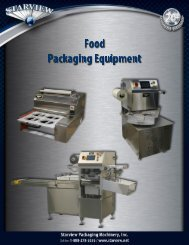 Food Packaging Catalog - Starview Packaging Machinery