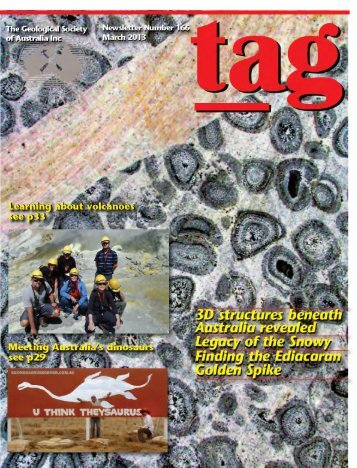 TAG 166 - Geological Society of Australia