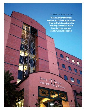 annual report - Department of Neurosurgery University of Florida