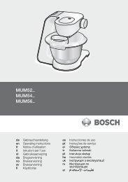 Bosch MUM56340 keukenmachine - Wehkamp.nl