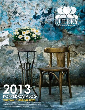 POPPER CATALOG - Gulley Greenhouse