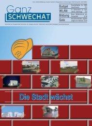 0109 Jänner Ausgabe - Stadtgemeinde Schwechat