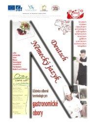 Učebnice odborné terminologie pro gastronomické obory - Německý ...