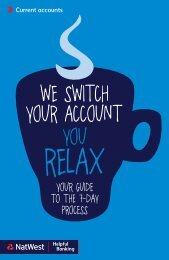 See more details about switching (PDF) - NatWest