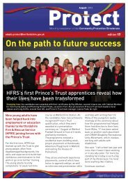 On the path to future success - Hertfordshire County Council