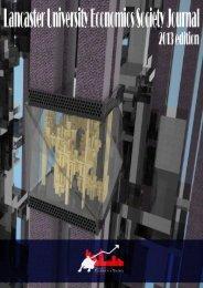 Read the 2013 journal - Lancaster University Economics Society