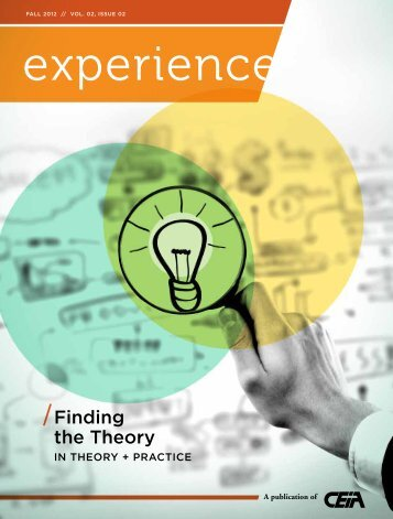 Finding the Theory - Cooperative Education and Internship ...