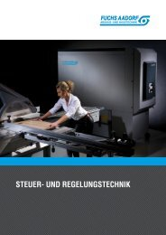 Broschüre Steuer- und Regelungstechnik - Fuchs Aadorf