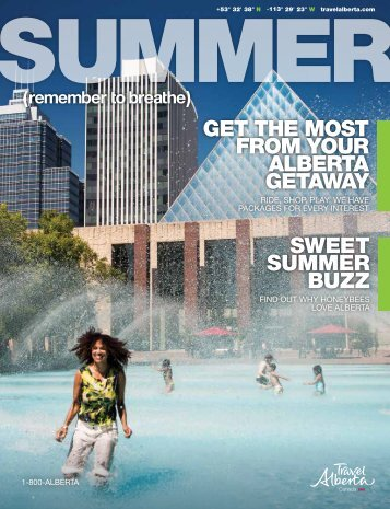 sweet summer buzz get the most from your - Travel Alberta