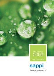 Milieuverklaring Sappi Maastricht BV
