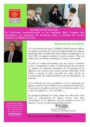 Editorial du Président - CESR