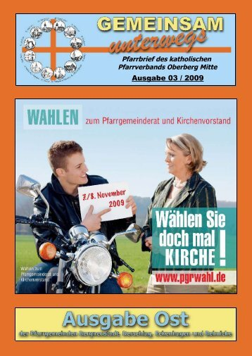 Ausgabe 03 / 2009 - Katholische Pfarreiengemeinschaft Oberberg ...