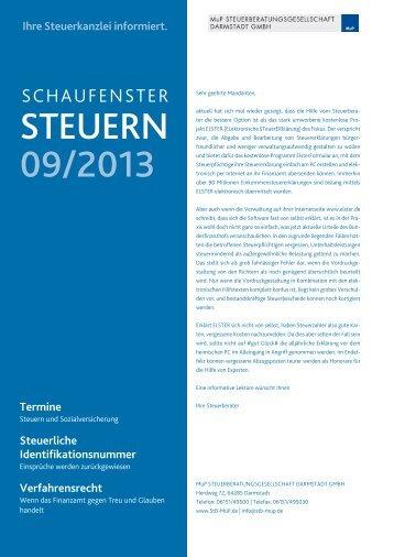 Mandantenbrief 2013.09.pdf - MuP ...