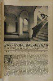 deutsche bauzeitung 55. jahrgang. n2 15. berlin, den 23. februar 1921.