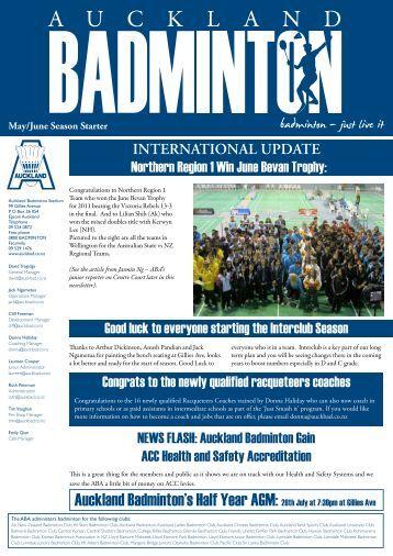 Issue # 3 - College Rifles Squash Club